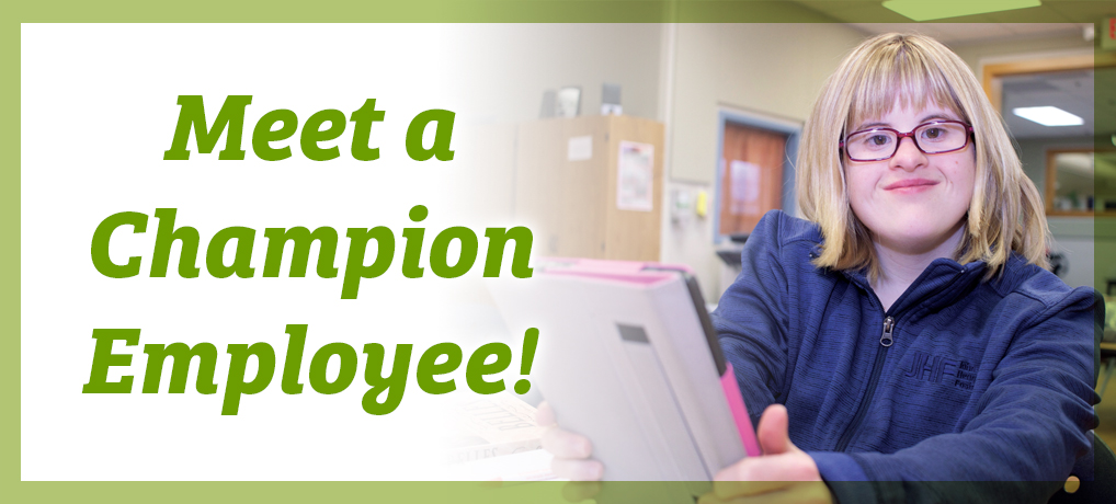 Meet a Champion Employee, Rebekah!