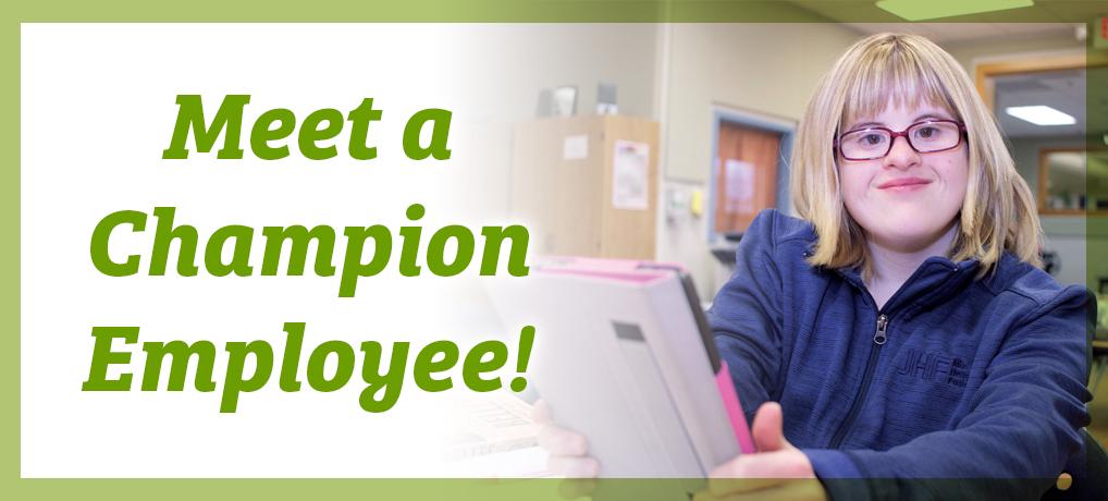 Meet a Champion Employee, Rebekah!