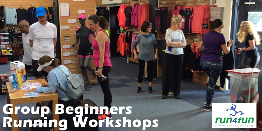 RunBetter Group Beginners Running Workshops