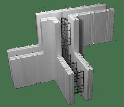 Advantage ICFs Insulating Concrete Forms 6 Inch T