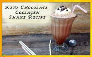 Keto Chocolate Collagen Shake Recipe