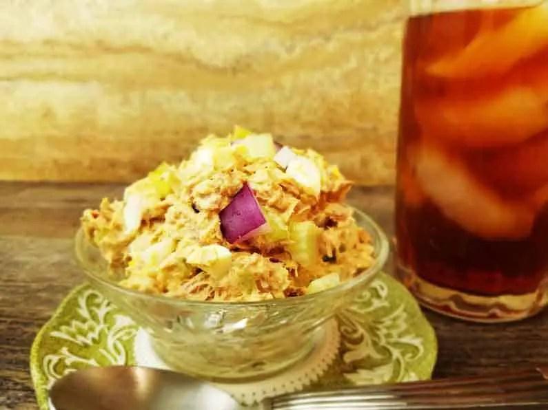 Tuna Salad With Egg Keto Recipe