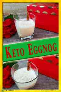 Low Carb Eggnog Recipe for your Keto Christmas