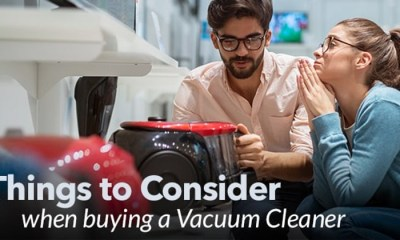 Features You Should Know Before Buying A Vacuum