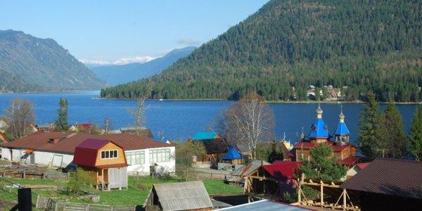 Телецкое озеро и его водопады, Алтай