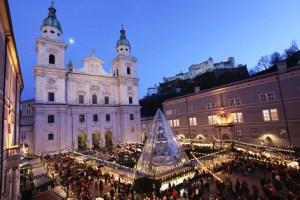 Christkindlmarkt Salzburg, Østerrike