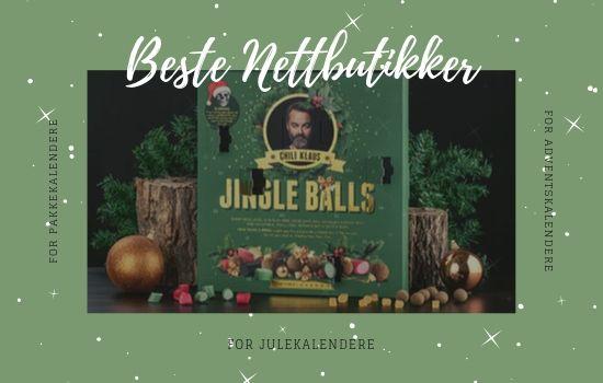 Beste nettbutikker for julekalendere 2019