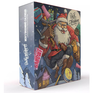 Dick Johnson Bad Santa Men´s Grooming Calendar
