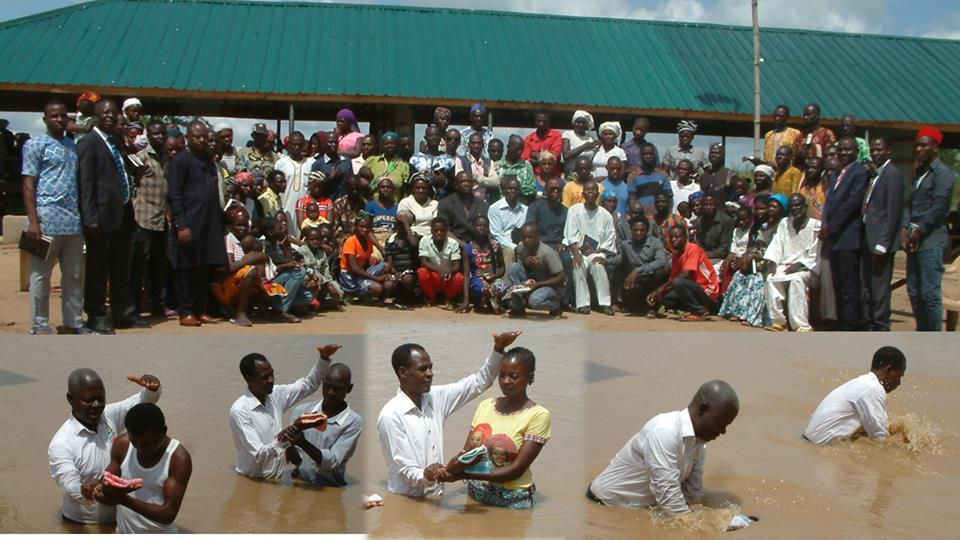 Seventh Day Adventist Pentecost II: 95 Souls baptized, over hundred in baptismal class at IDP camp, Benue
