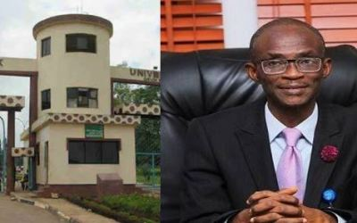 Babcock Vc, Prof. Ademola Tayo, explains why the institution expelled the female student in the sex video