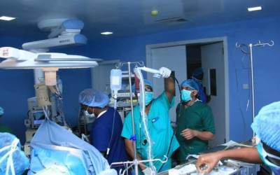 Babcock University Teaching Hospital (BUTH) successfully performed a rare surgery of cervical and lumbar spondylosis on a 65 years old man