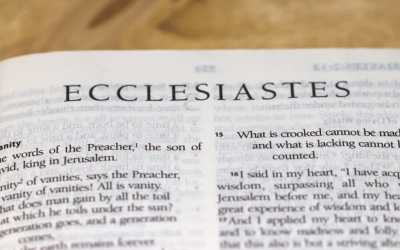 6 short lessons from Ecclesiastes 4 – M. Jackson.