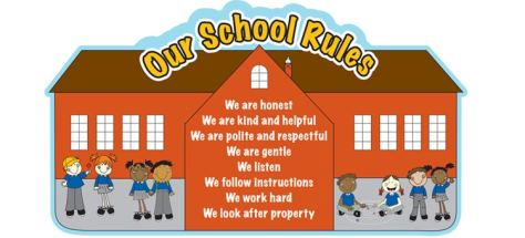 Rules of the school