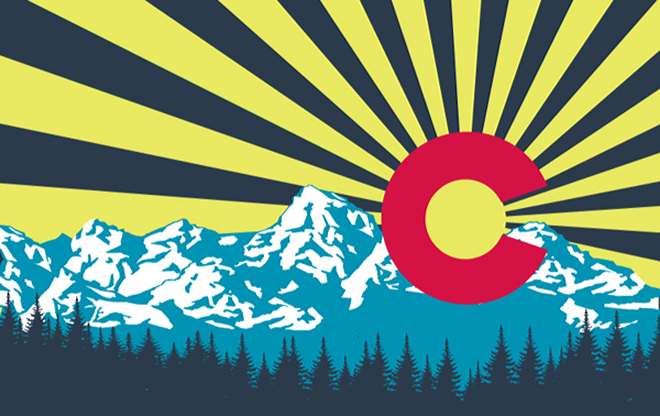adventure journal colorado flag