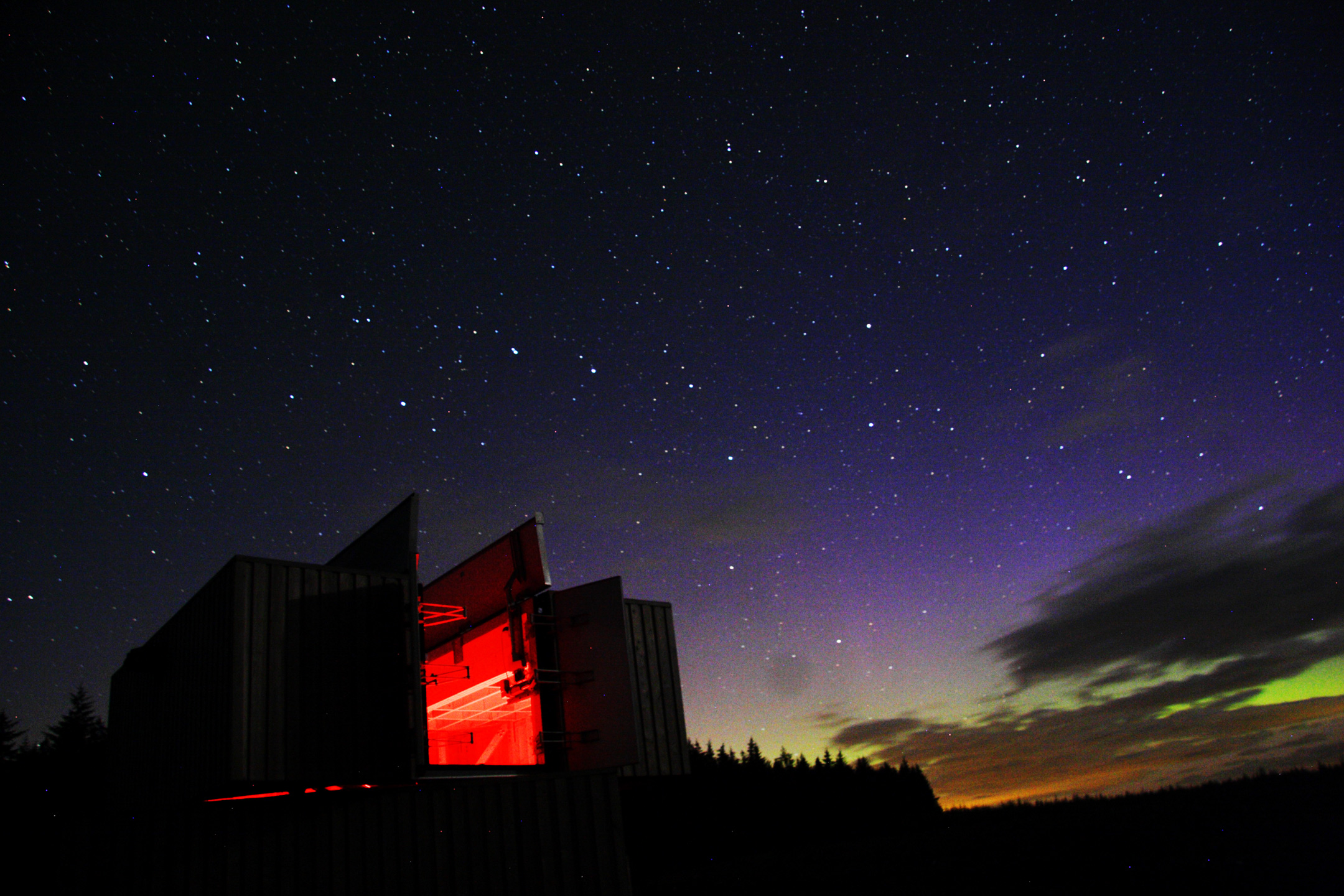 Kielder Observatory Northern Lights