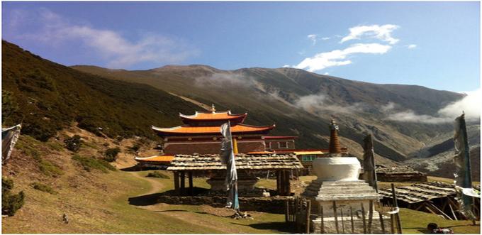 Mt Minyak Gangkar Trek From Chengdu