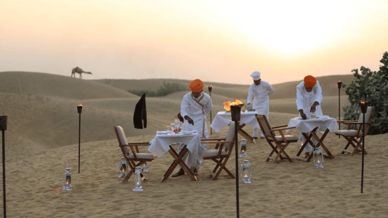 Thar Desert Glamping Jaisalmer Rajasthan