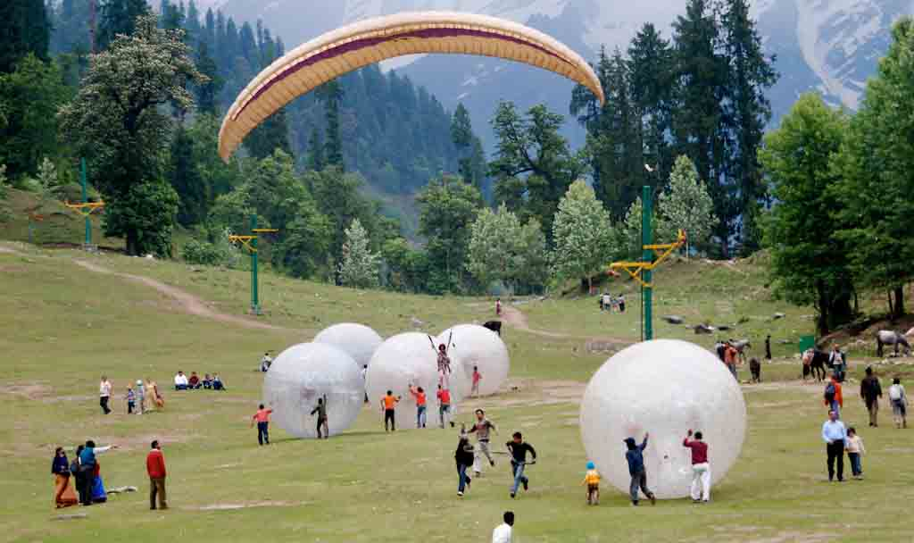 Image result for ZORBING AND PARAGLIDING