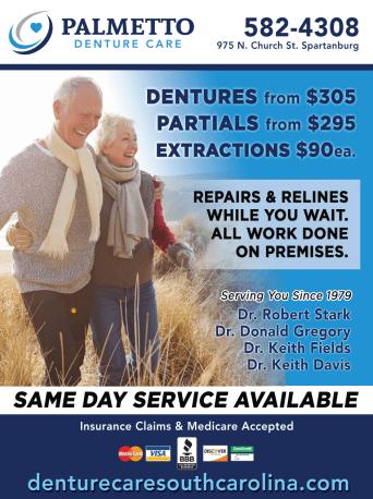 Palmetto Denture Care Flyer
