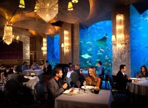 Dubai Food: Ossiano, Atlantis The Palm