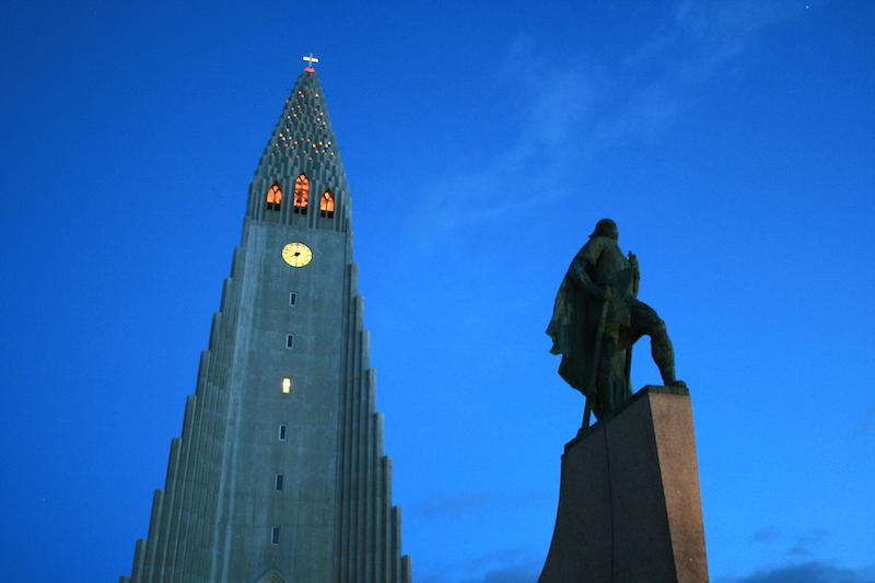 24 Hours in Reykjavik Leifur Eiriksson