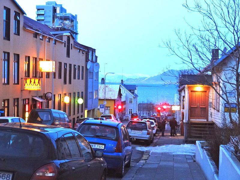 24 Hours in Reykjavik Street
