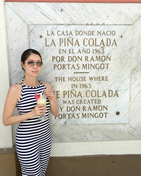 Highlights of San Juan Pina Colada