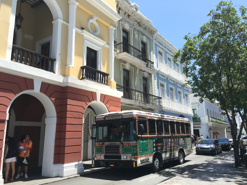 Highlights of San Juan Trolley