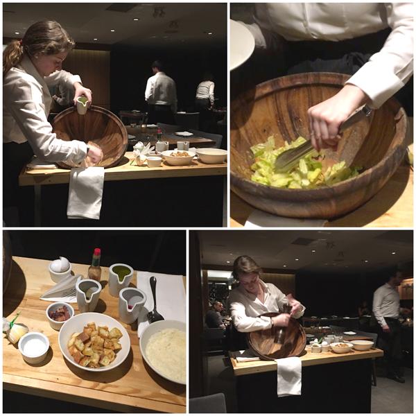 Jacobs & Co Table side Caesar Salad