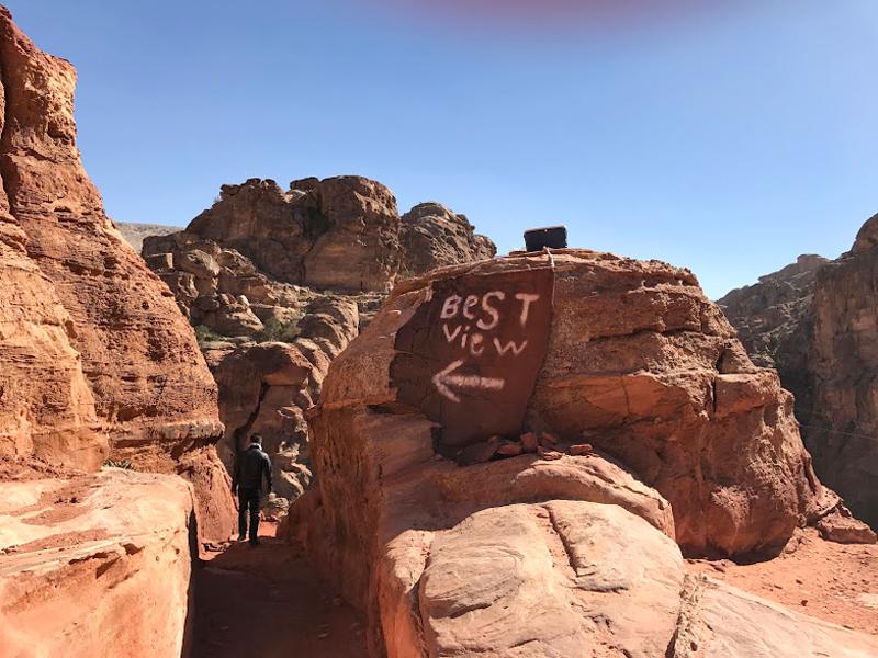 Petra Jordan Al Kubtha Trail