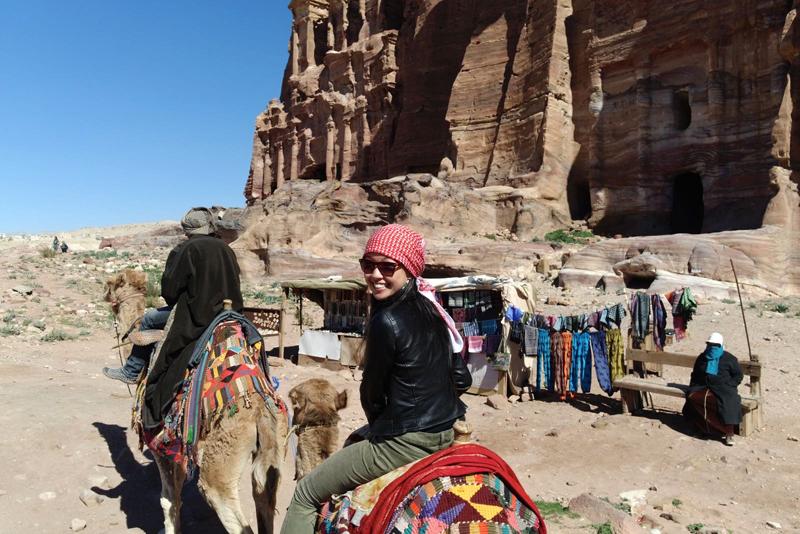 Petra Jordan Camel Ride