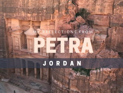 My Reflections From Petra Jordan