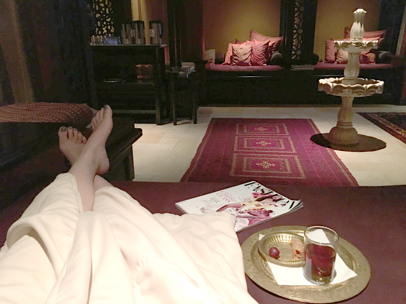 Miraj Hammam Spa Relaxation Room