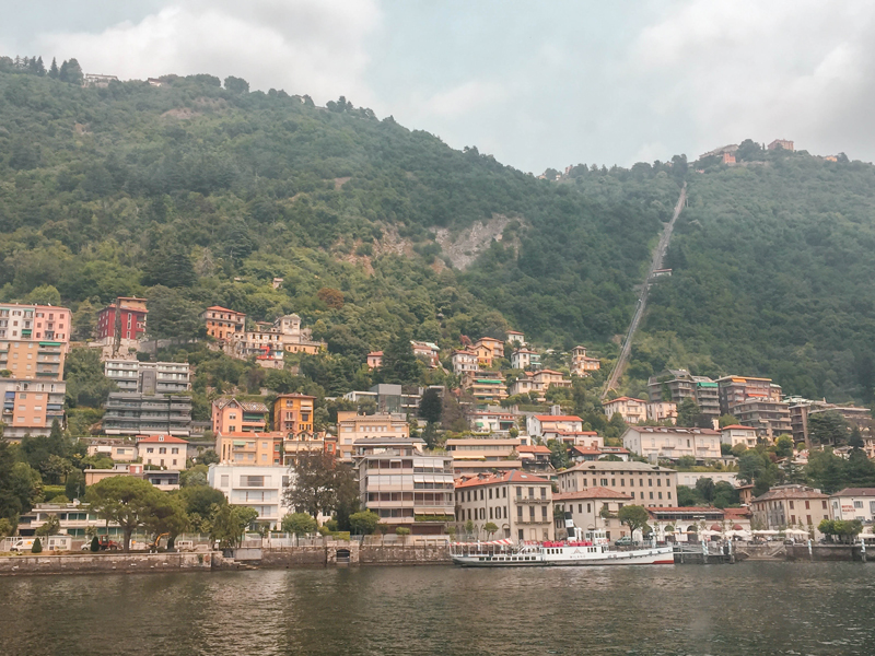 Trip to Lake Como Brunate