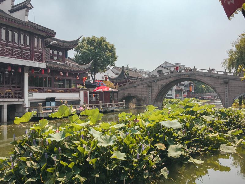 Qibao Water Town Puhui River