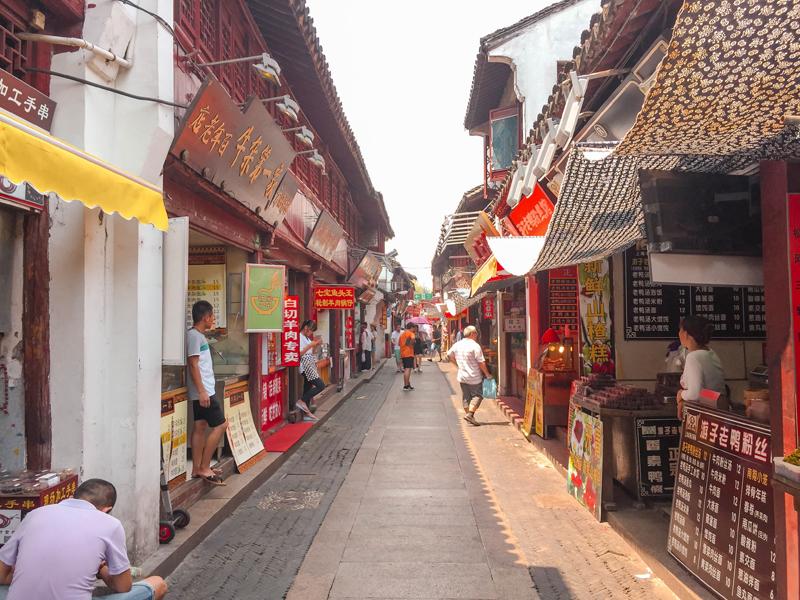 Qibao Water Town street