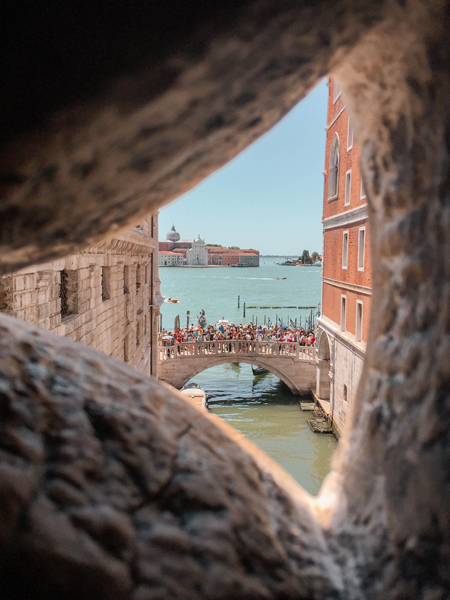 Exploring Venice Photo Diary Bridge of Sighs