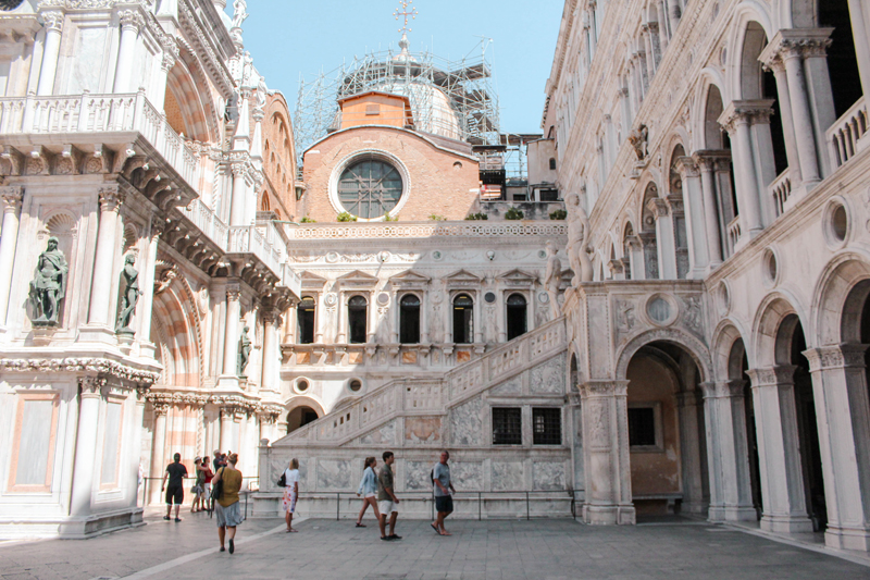 Exploring Venice Photo Diary Doges Palace Interior
