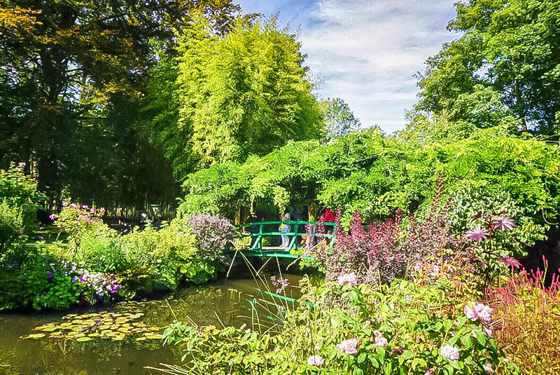 Monet's Gardens in Giverny Japanese Bridge