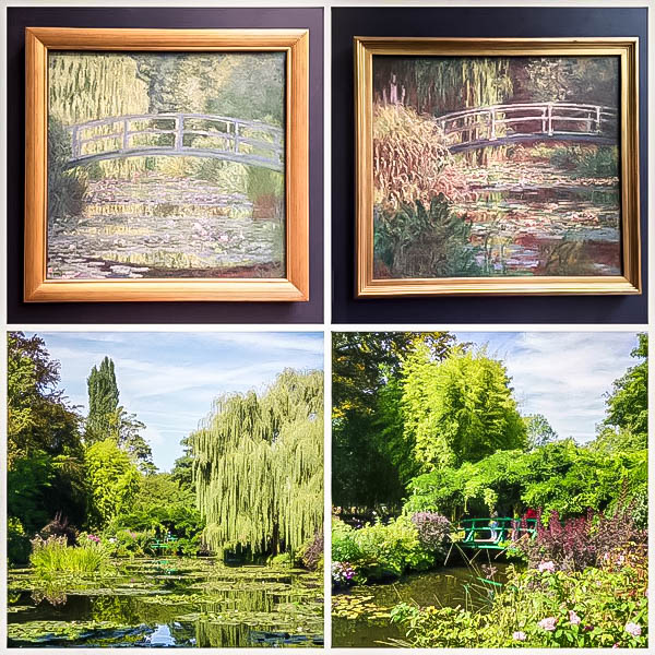Monet's Gardens in Giverny Painting