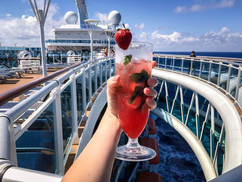 Cruising Majestic Princess Seawalk