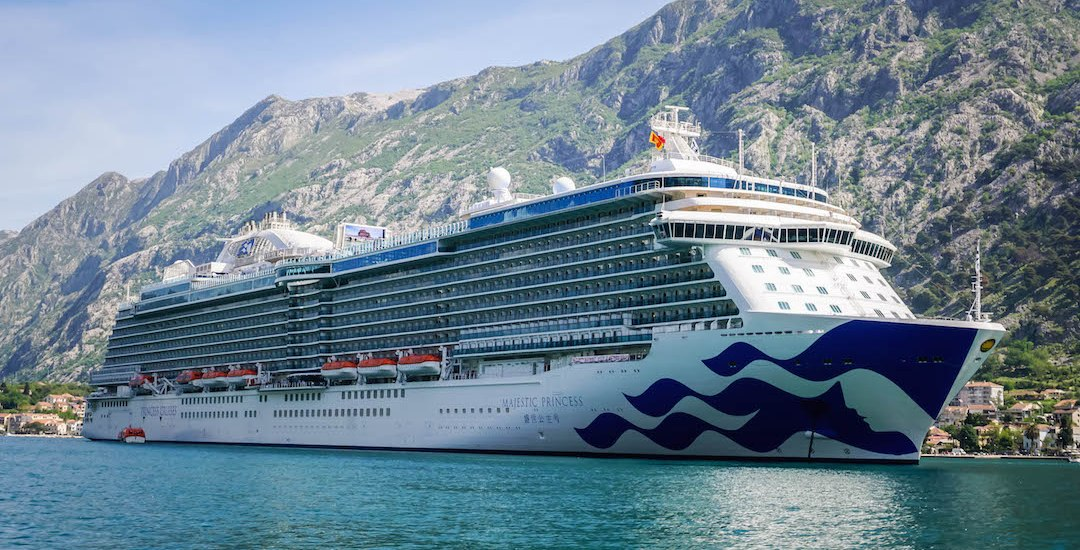 Cruising on the Majestic Princess