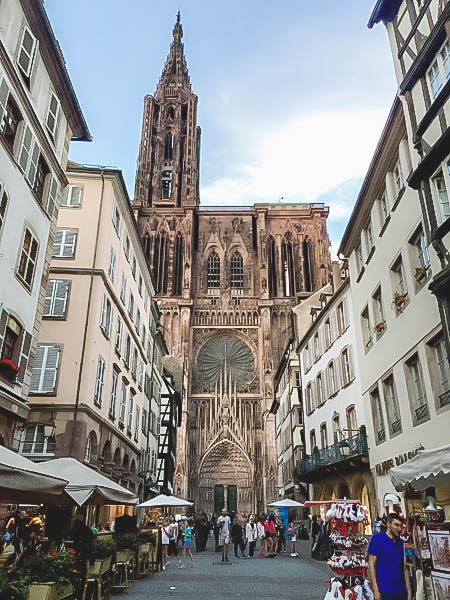 Vibrant Palette of Alsace_Strasbourg Cathedral