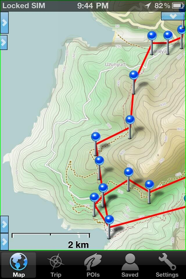 How to use your smartphone as the best backpacking gps adventure alan how to choose your mapping apps gumiabroncs Gallery