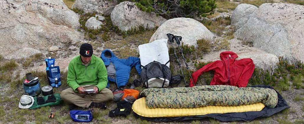 9 Pound Full Comfort Lightweight Backpacking Gear Checklist