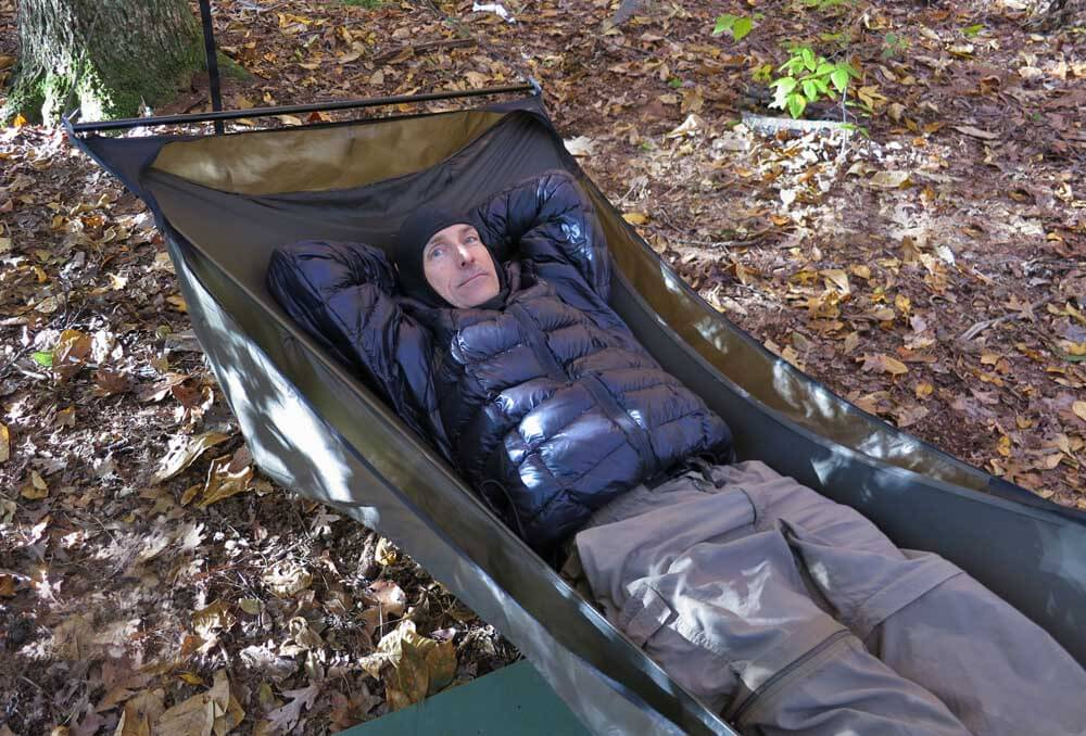 due to spreader bar width bridge hammocks may require a wider tarp than gathered end hammock camping part iii  helpful tips and resources for a virgin      rh   adventurealan