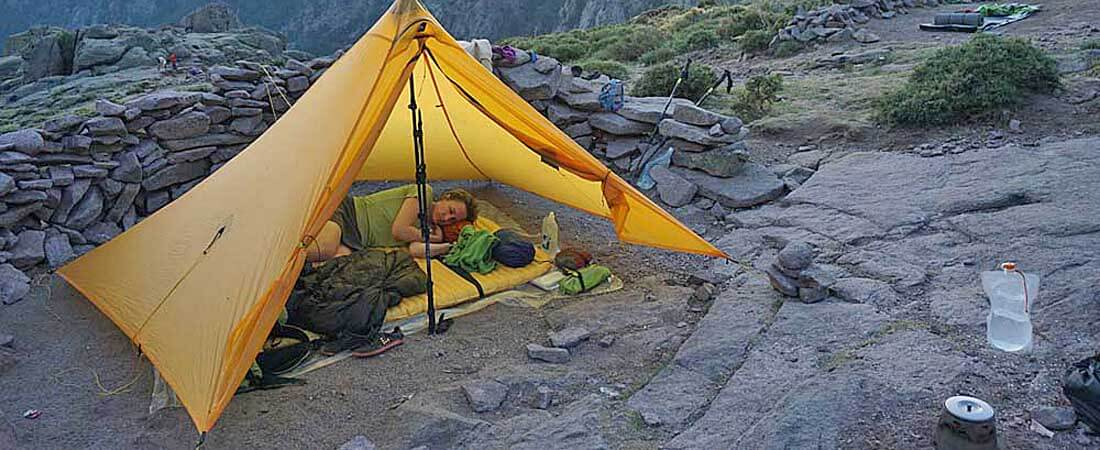 Tarp Tents For Backpacking : Recommended tents tarps and other shelters adventure alan