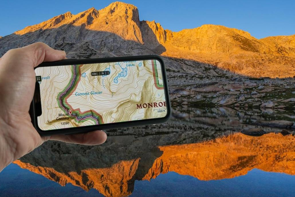 how to use your smartphone as the best backpacking gps adventure alan