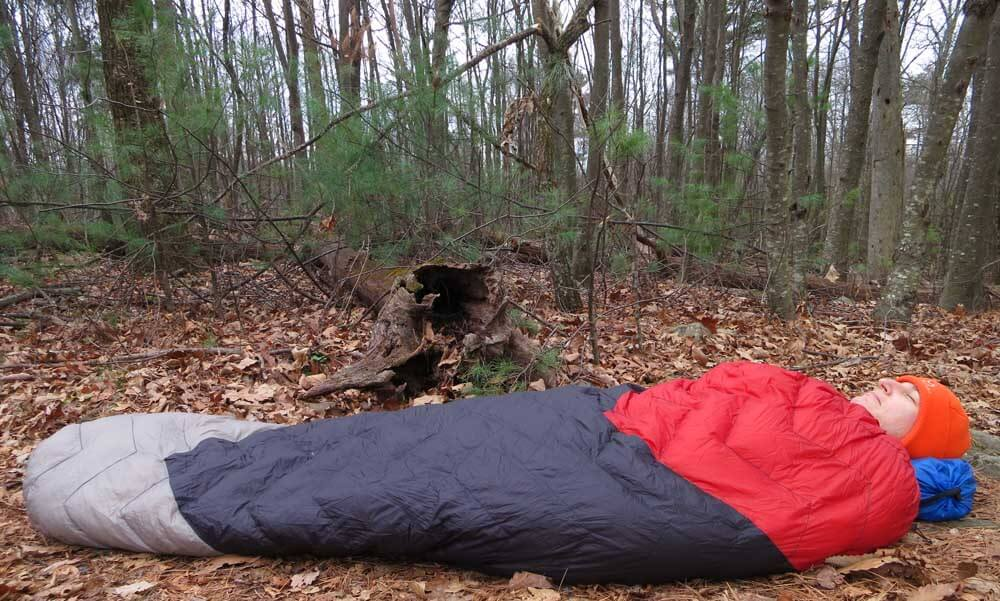 lightweight backpacking quilt - loco libre gear ghost pepper