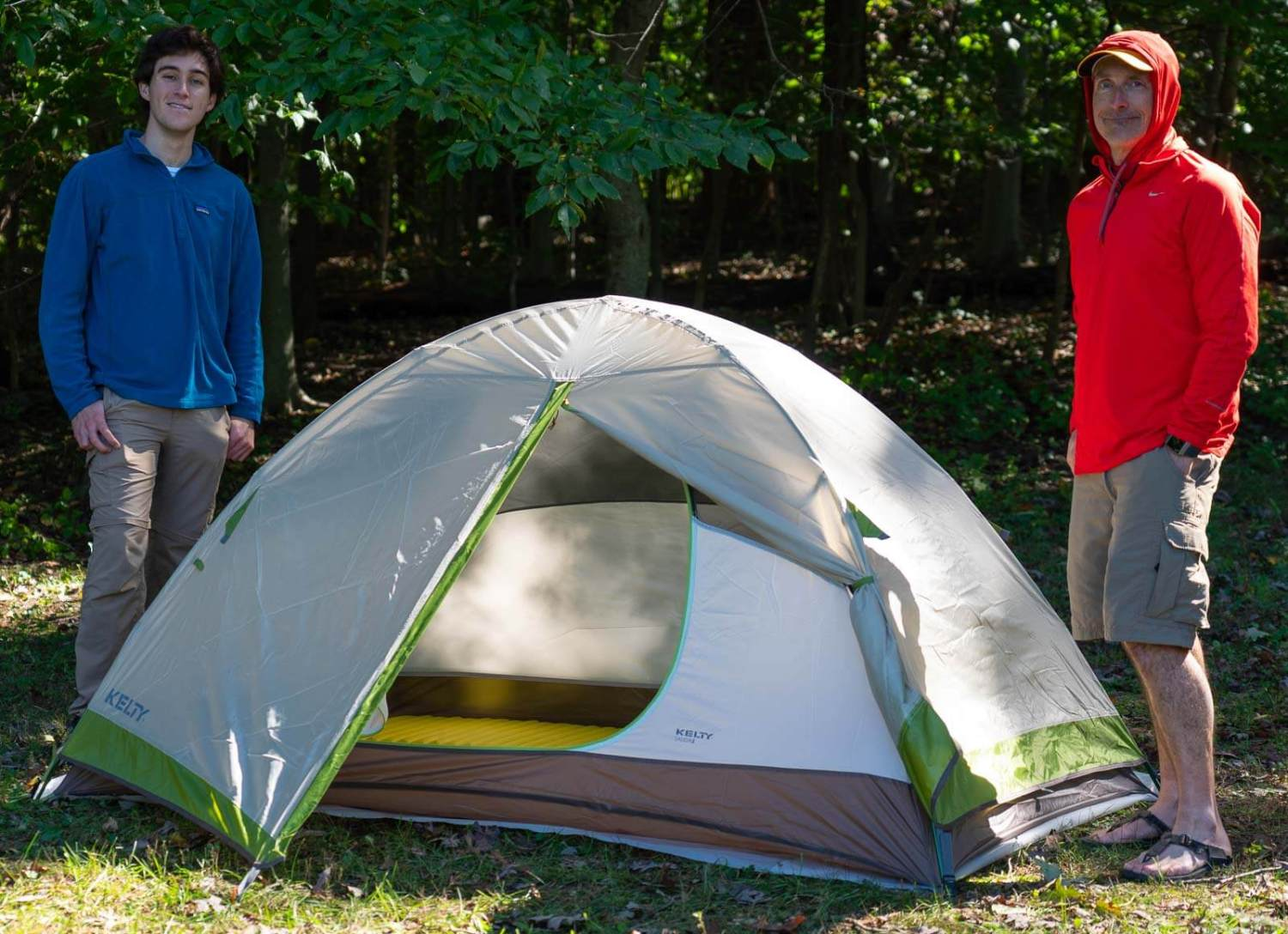 best backpacking tents kelty salida